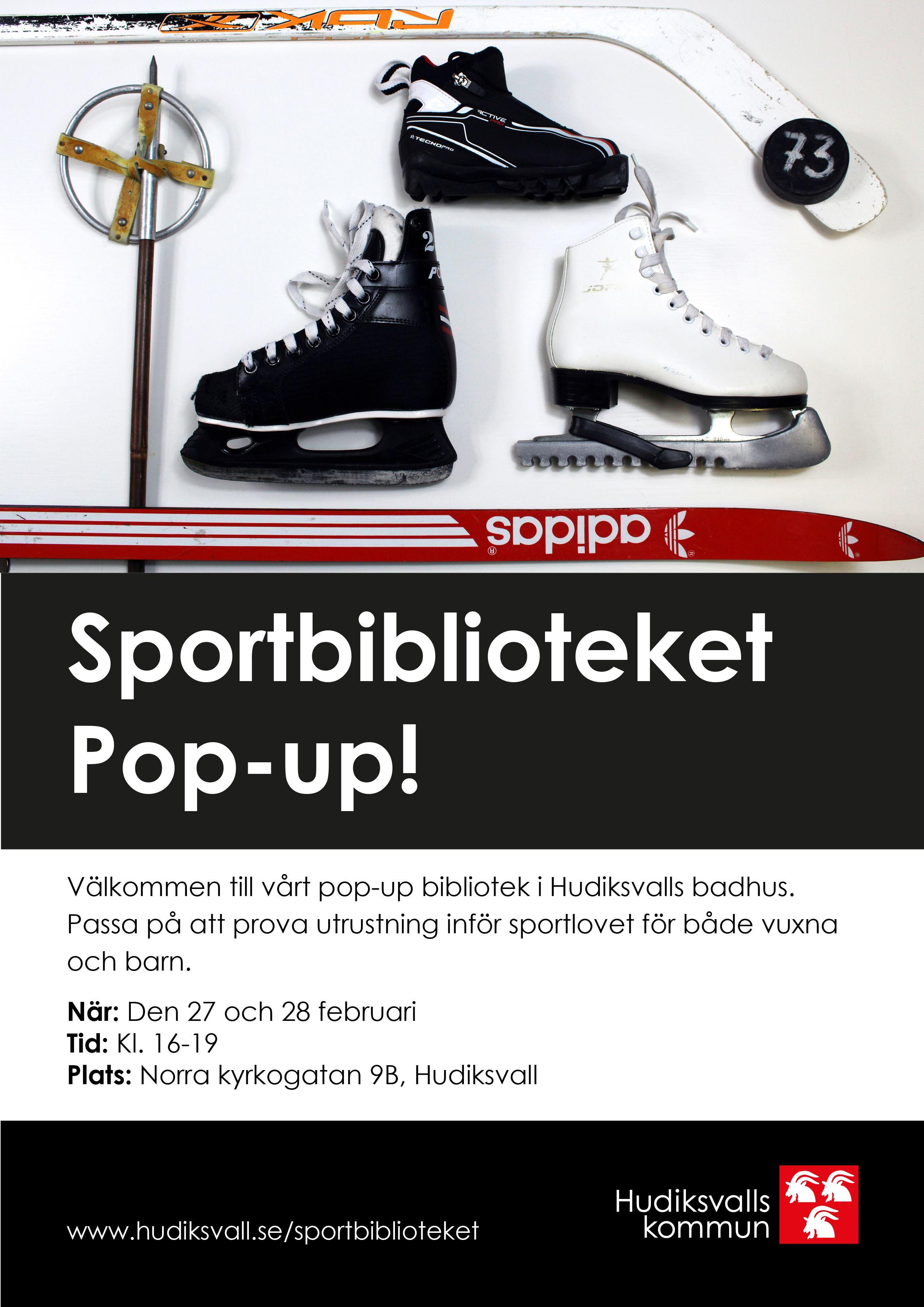 Sportbiblioteket Pop-up