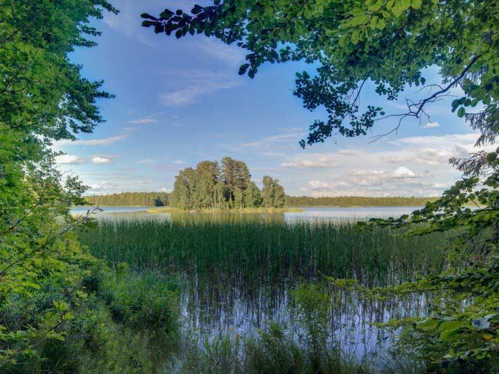 Kryssa naturreservat med naturum – Agnäs