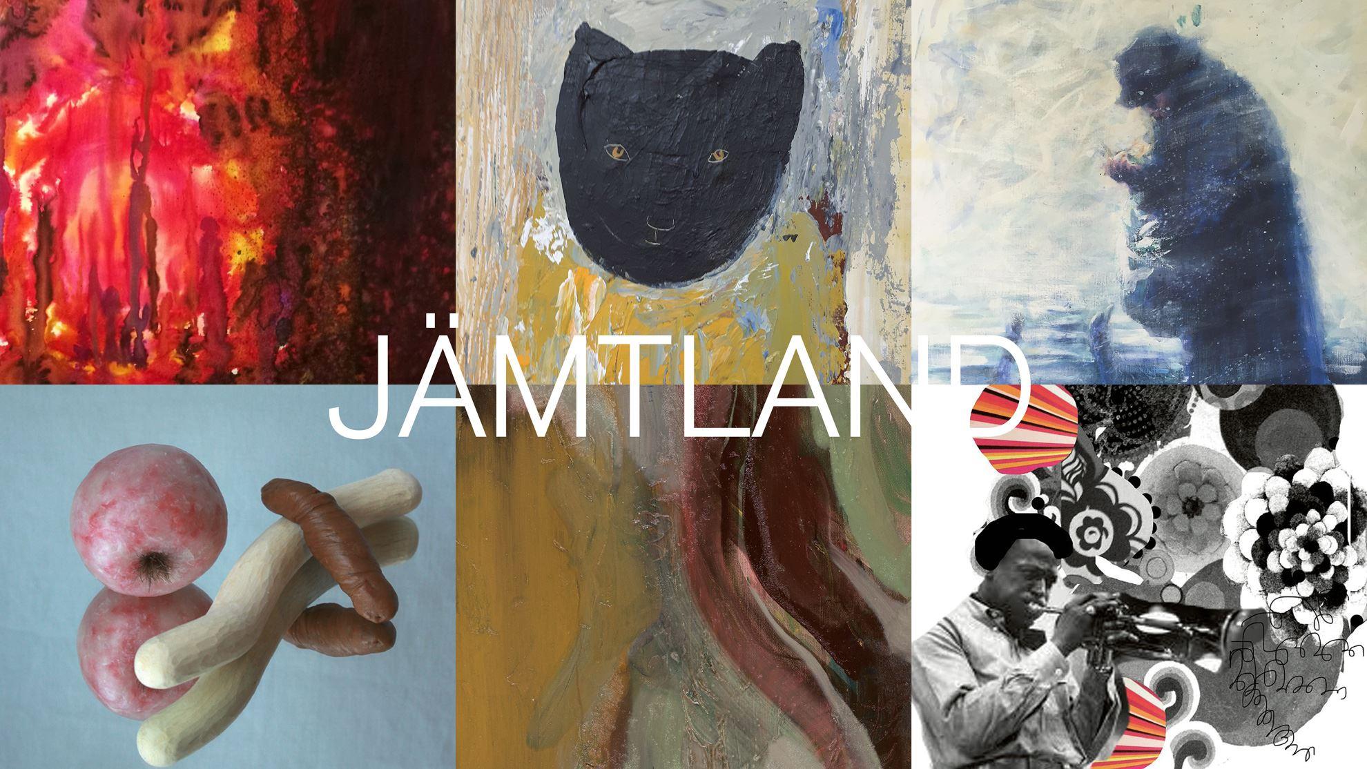 Exhibition: 12 artists from Jämtland & Medelpad