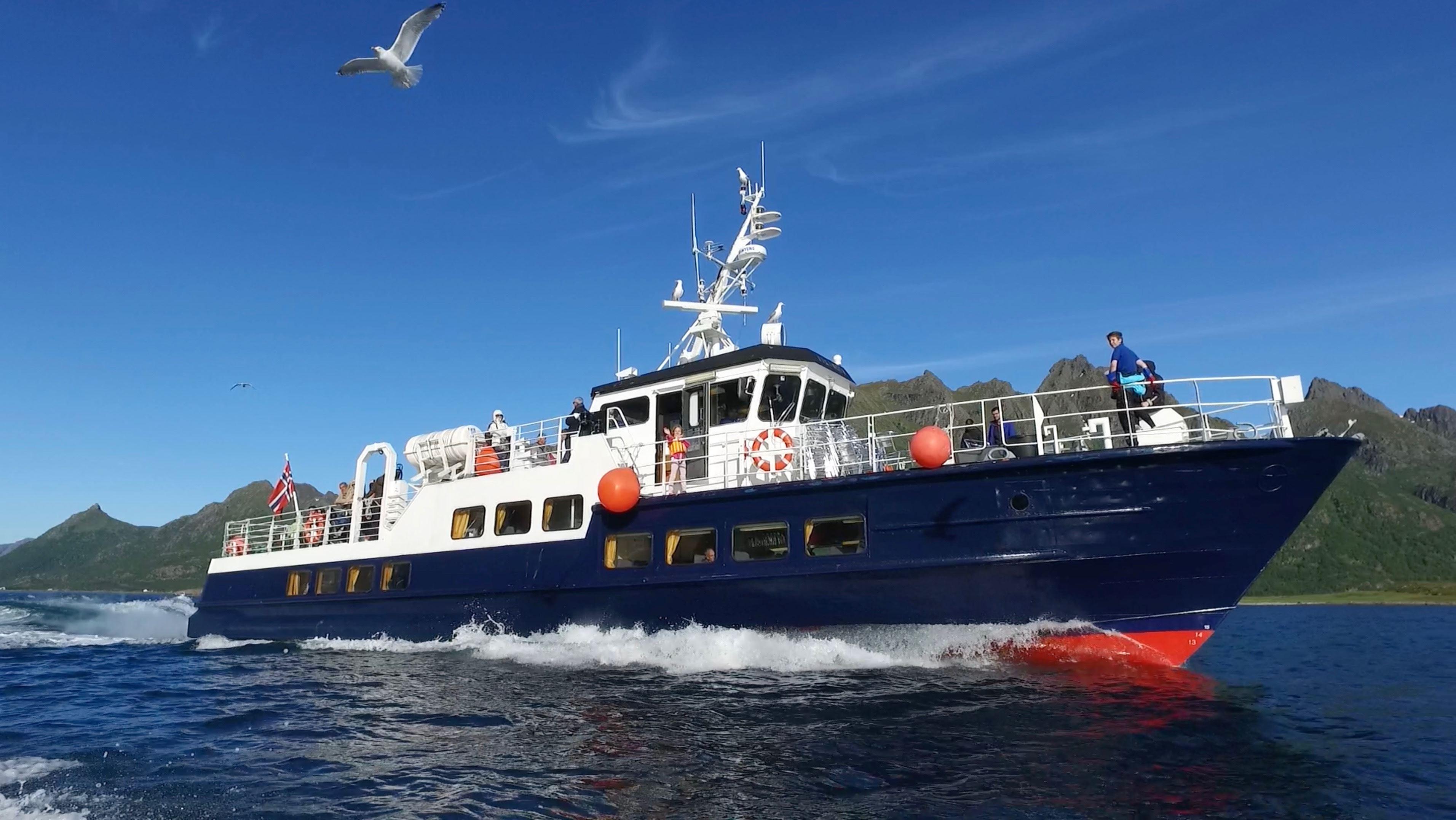 Trollfjordturer med MS Øykongen