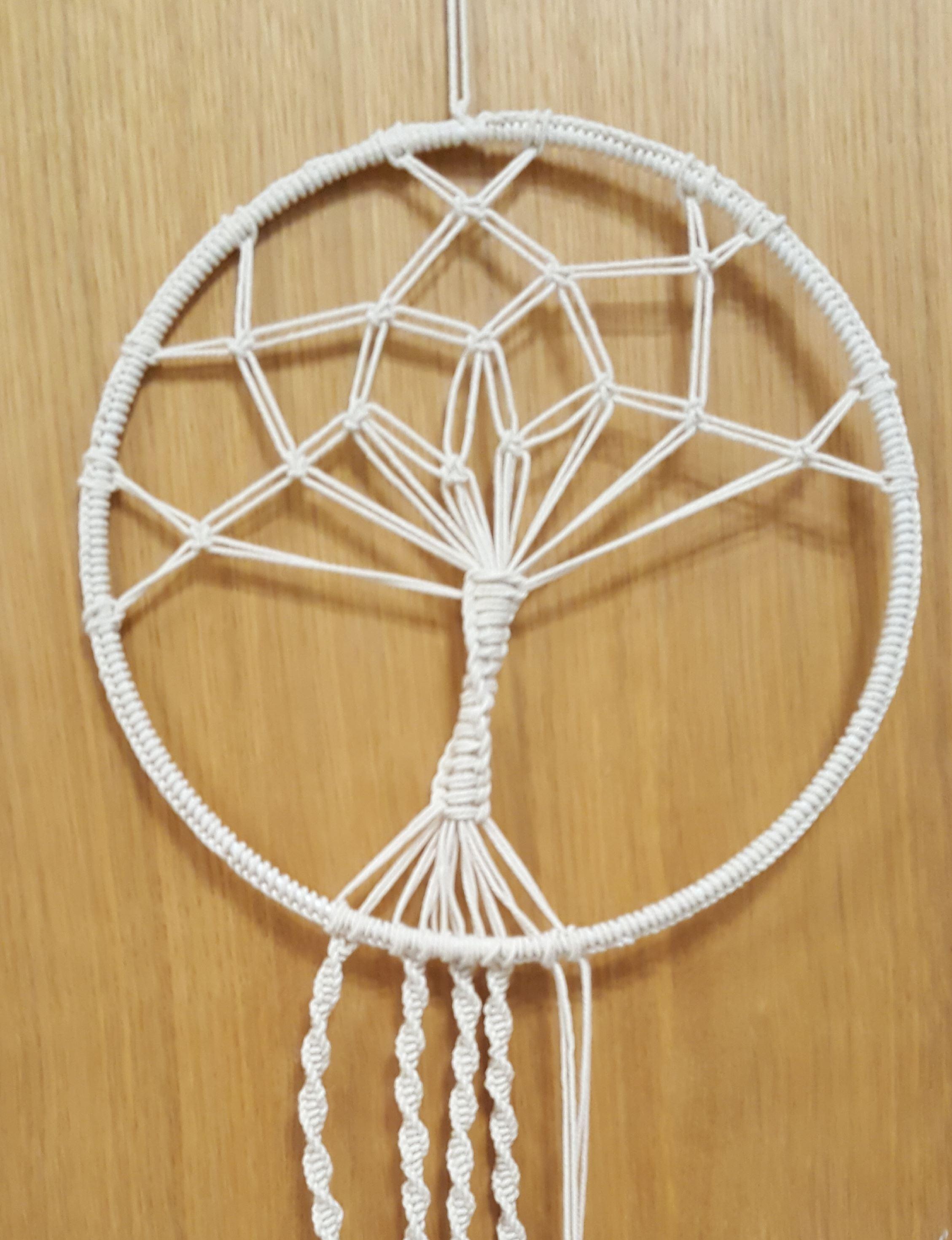 :Eva-Lisa Krabbe, Träd i ring knuten i makrame
