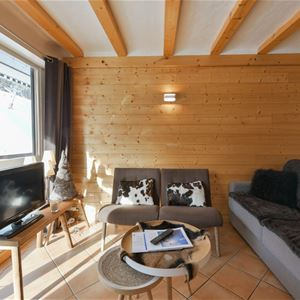 3 rooms 6 people ski in ski out / ADRET 18 (Mountain)