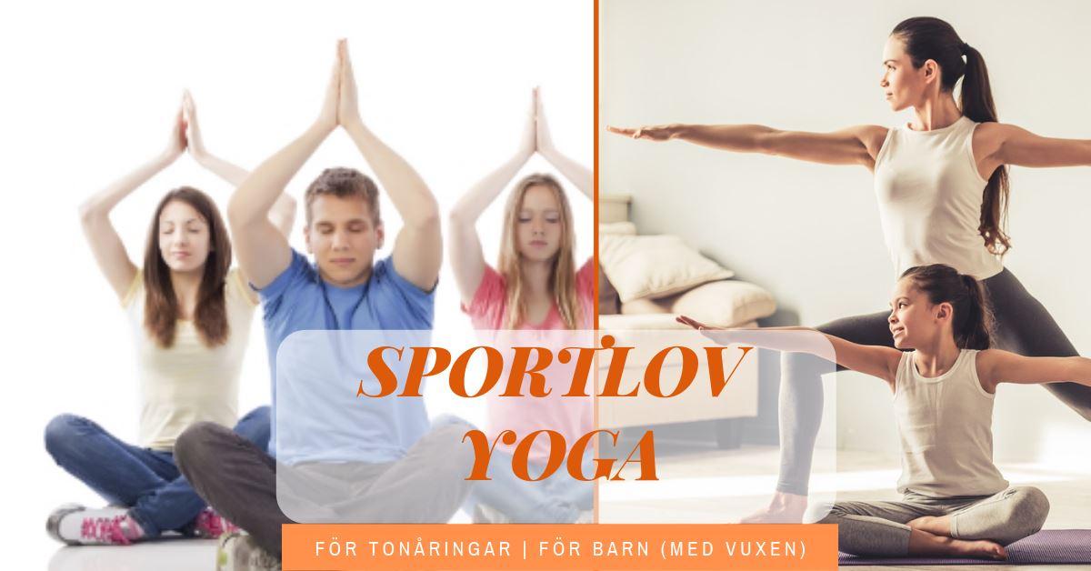 Sportlov yoga för barn och tonåringar