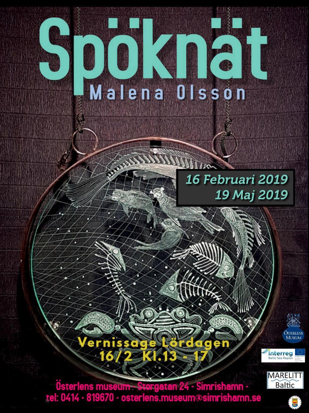 Utställning - Spöknät av Malena Olsson