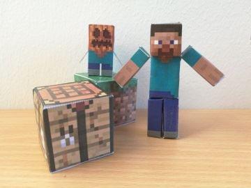 Minecraftdag på Malå bibliotek