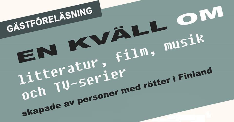 Gästföreläsning på svenska av Kai Latvalehto