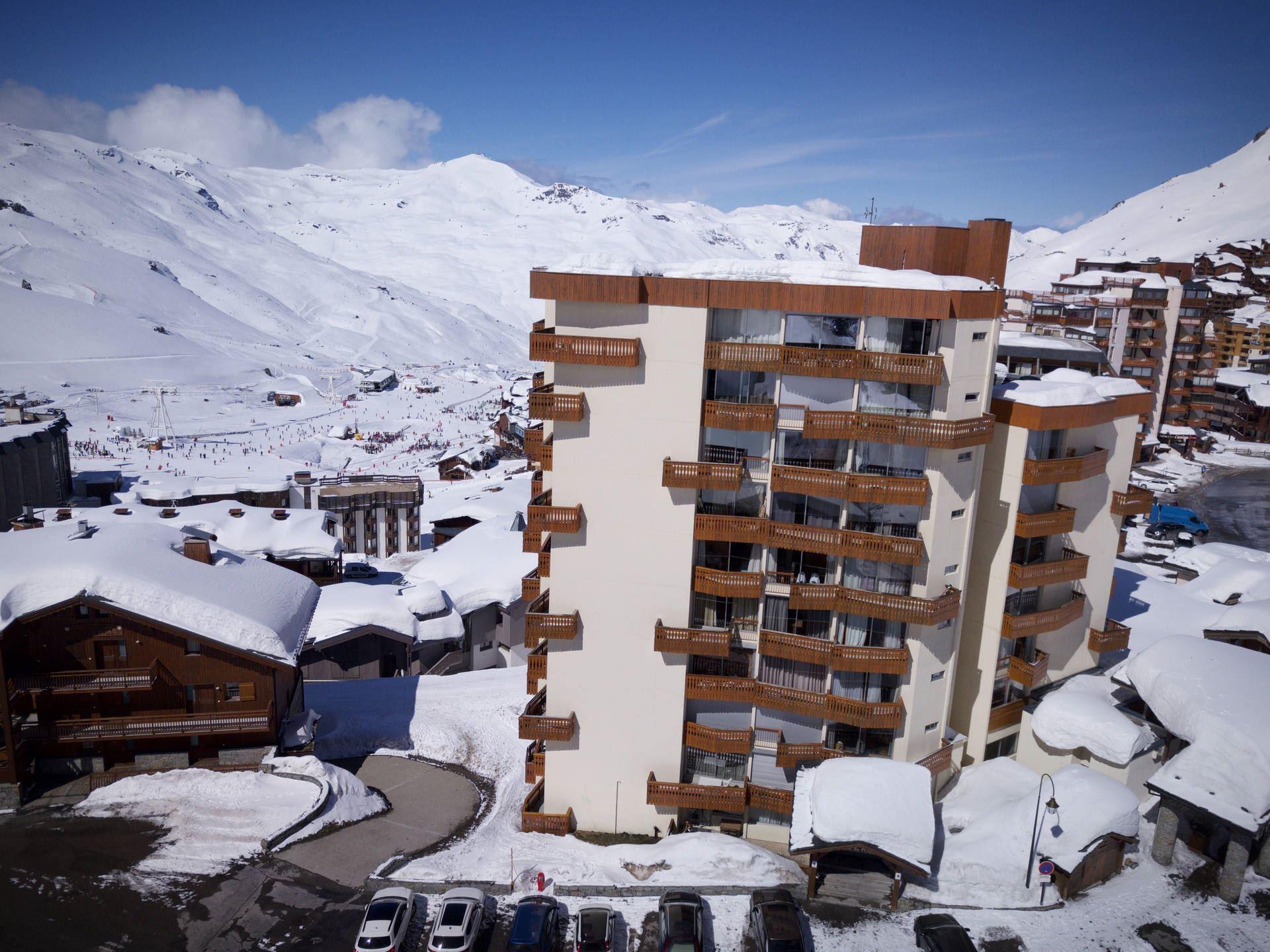 DOME DE POLSET 303 / STUDIO 3 PERSONS - 1 BRONZE SNOWFLAKE - VTI