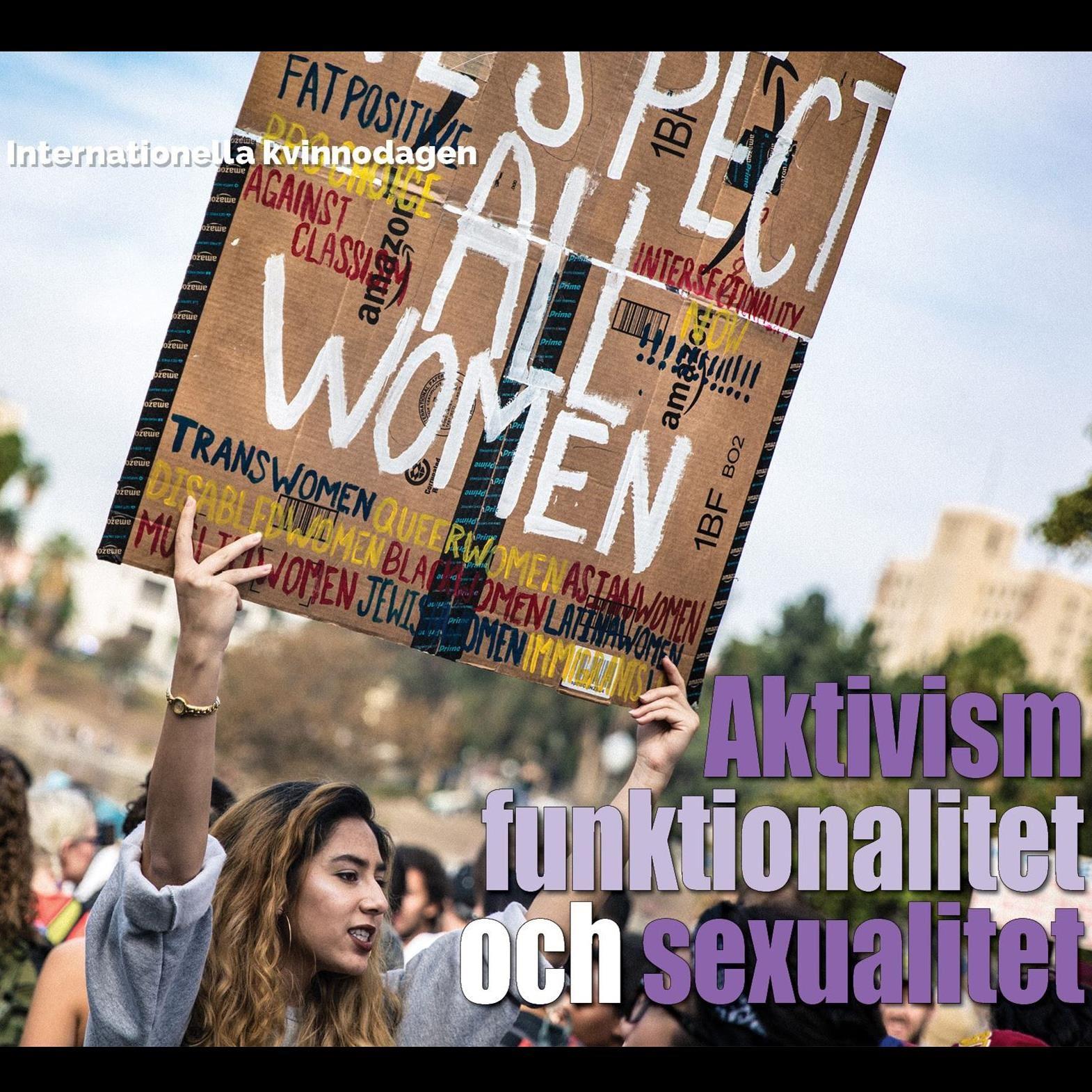Aktivism funktionalitet och sexualitet