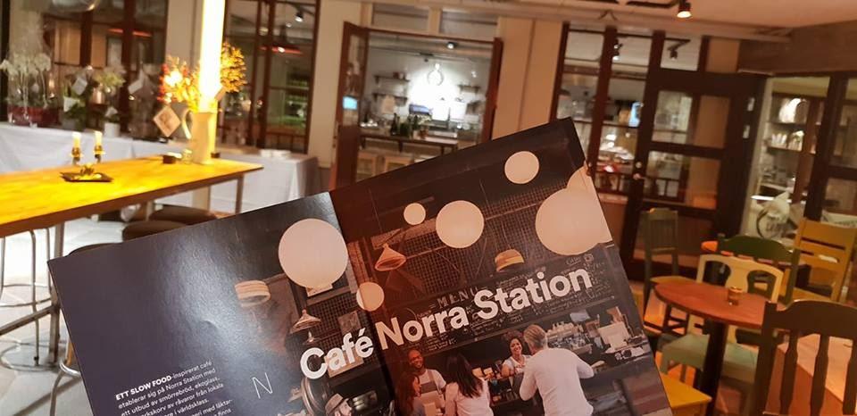 Foto: Norra Station,  © Copy: Norra Station, Cafémiljö