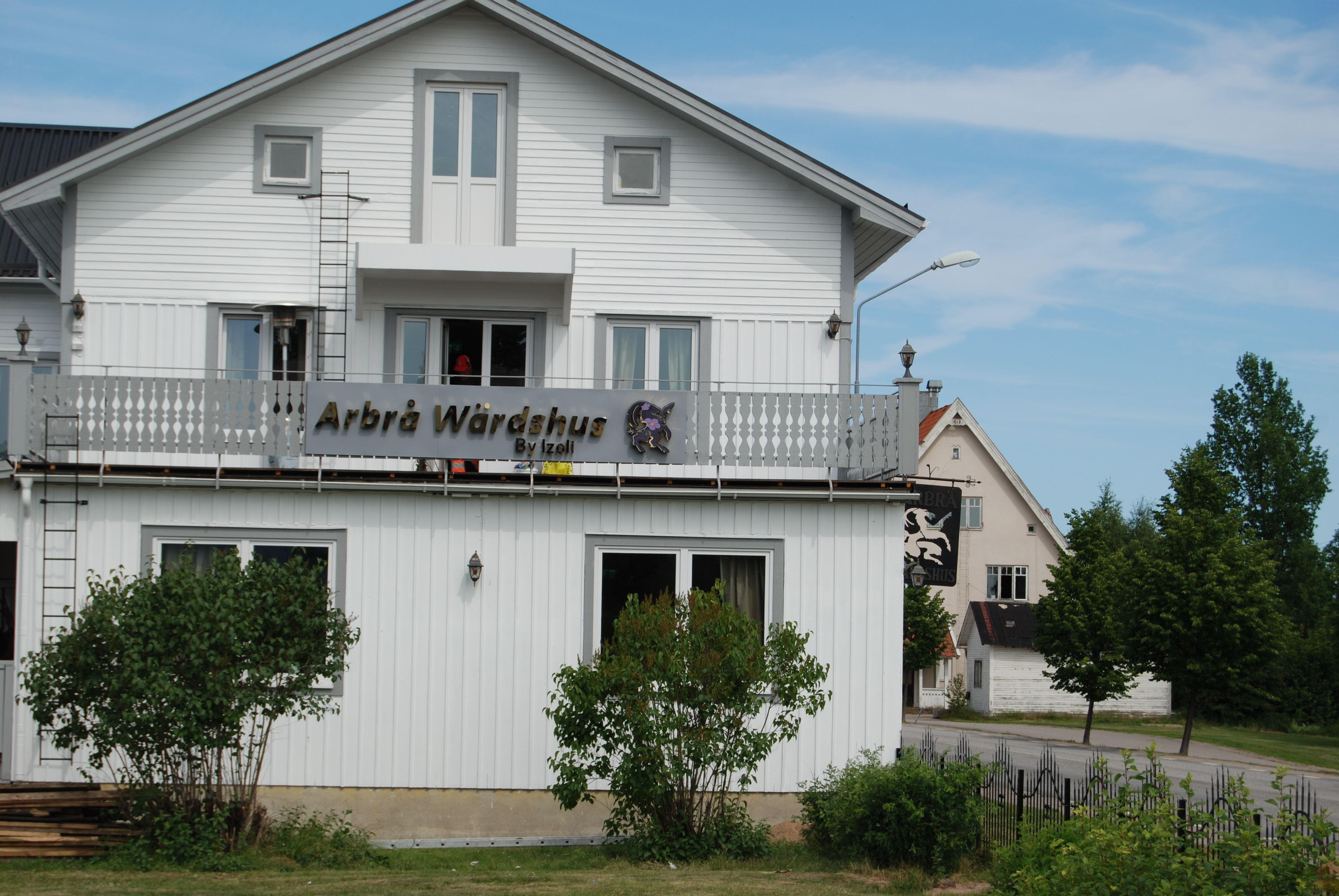 Arbrå Wärdshus Restaurang övernattning lunch Hälsingland