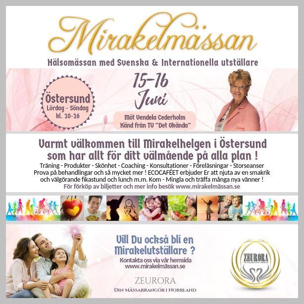 Mirakelmässan - Health Fair in Östersund
