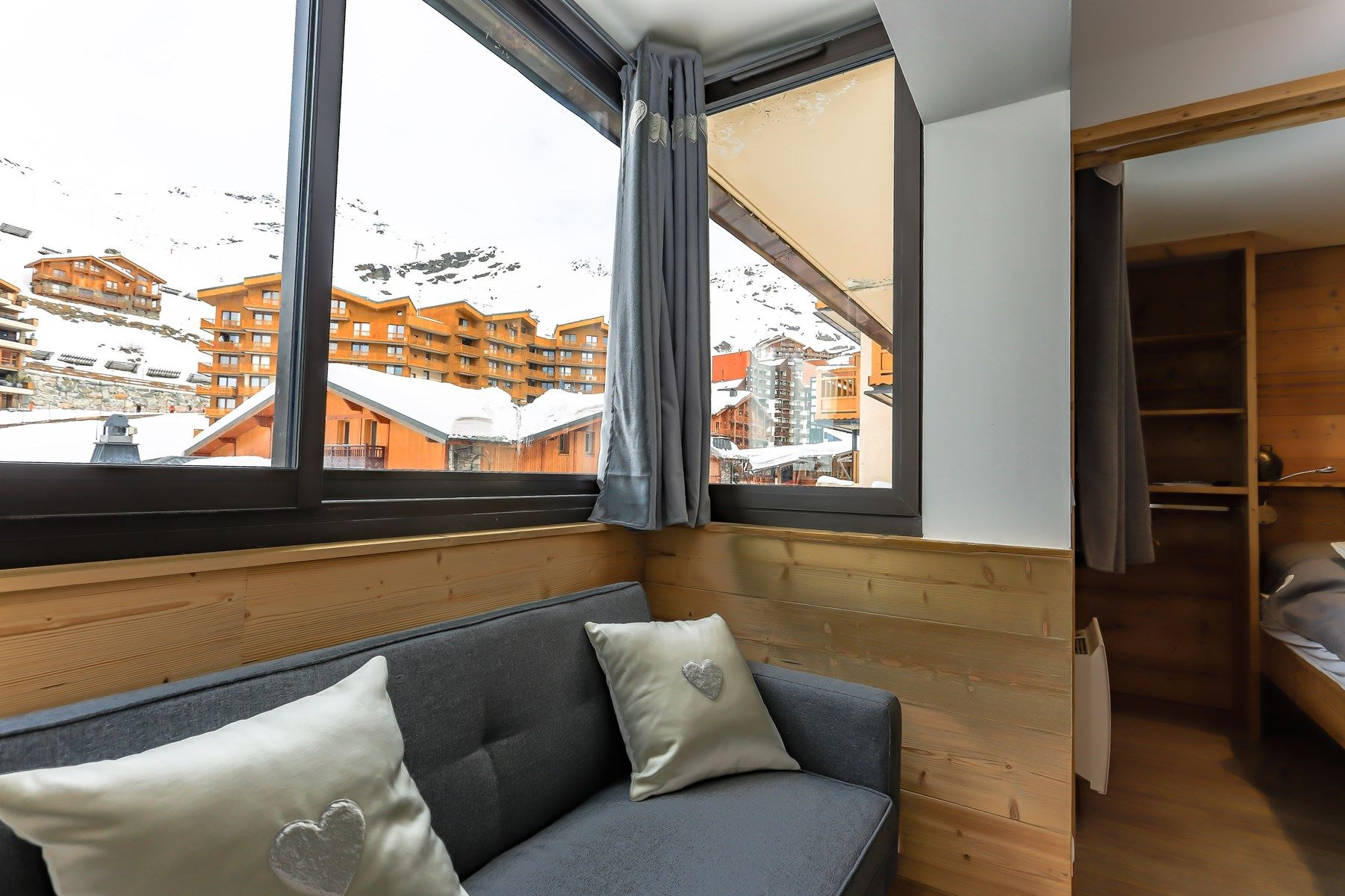 VANOISE 165 / APPARTEMENT 2 PIECES CABINE 4 PERSONNES - ADA