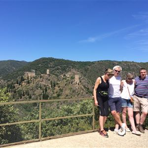 Excursion by minibus - 1/2 Day - Lastours Castles - Shared Excursion - F / GB - Treasure Languedoc Tours