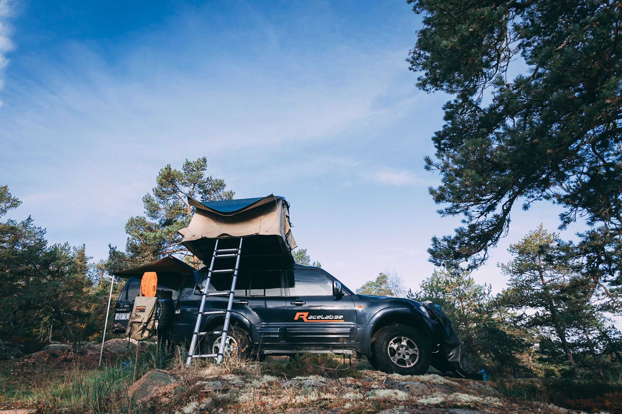 Overland weekend in Åland nature