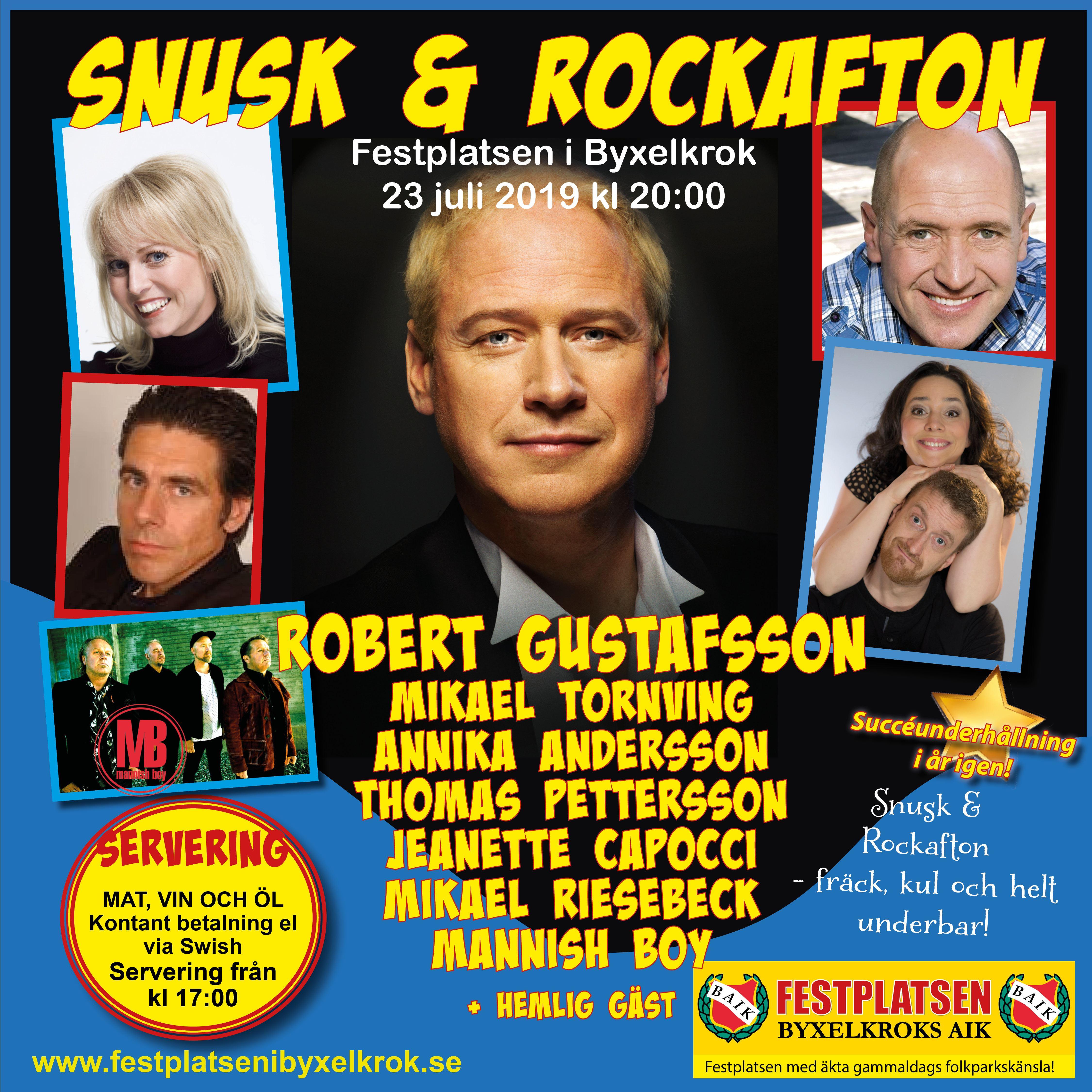 Snusk & Rockafton i Byxelkrok