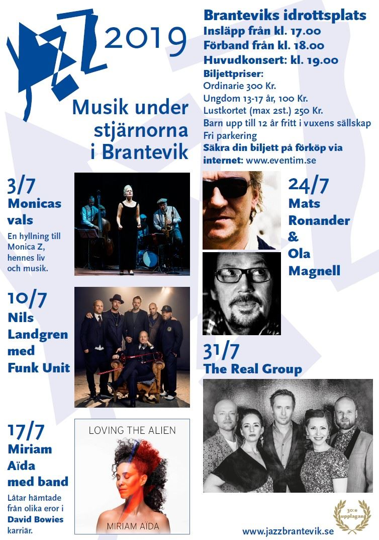 Musik under stjärnorna Brantevik 30 år