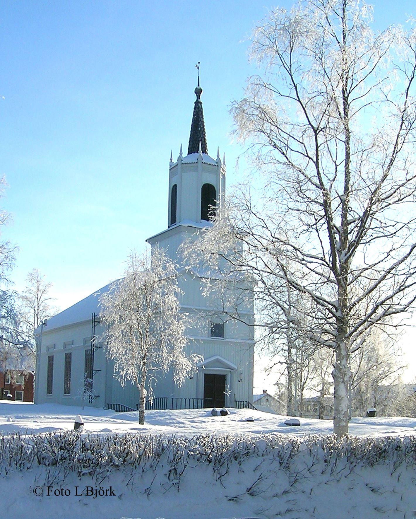 Lennart Björk,  © Malå kommun, Gudstjänst - Malå församling