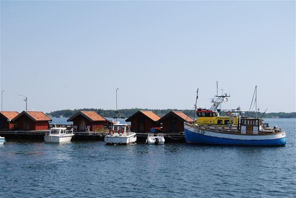 INSTÄLLT! Stenriket Vätö - guidad båttur