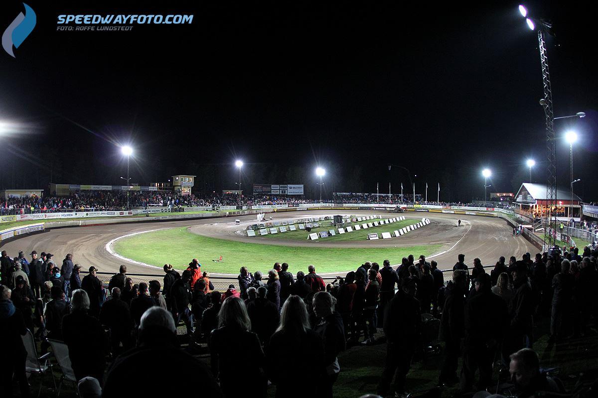 *****Speedway-VM med boende och SPA (1 natt, lör-sön)