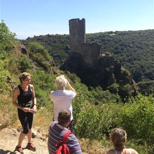 Excursion by minibus - 1/2 Day - Lastours Castles - Private Tour - F / GB - Treasure Languedoc Tours