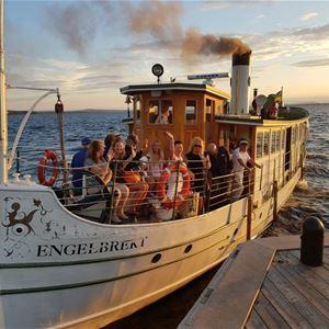 Båtturer med S/S Engelbrekt på Kulturkalaset