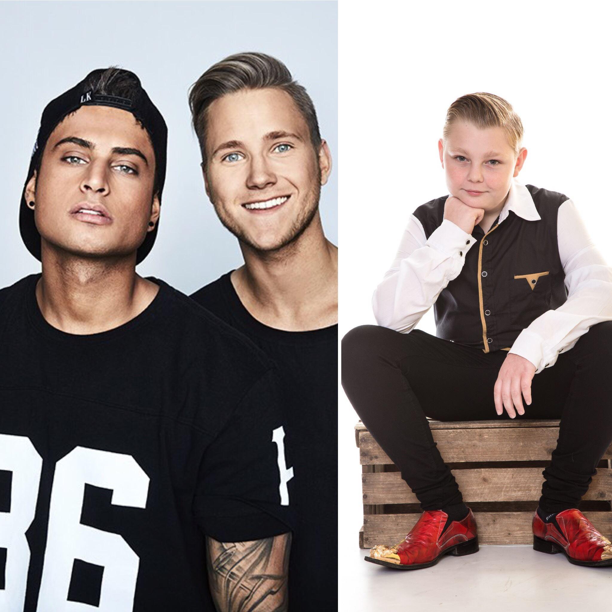 Familjens Dag i Wämöparken - Samir & Viktor och Emilio Walter