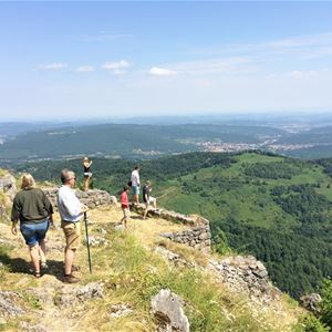 Day excursion by minibus - Castles of Montségur and Puivert, Mirepoix and Rennes-le-Château - Shared excursion - F / GB - Treasure Languedoc Tours