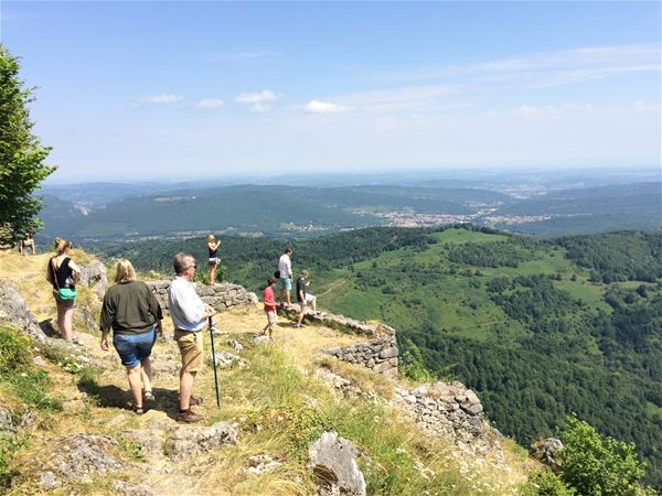 Day Minibus excursion - Mirepoix, Montségur and Foix castles - Private excursion - F / GB - Treasure Languedoc Tours