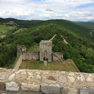 Day Minibus excursion - Castles of Montségur and Puivert, Mirepoix and Rennes-le-Château - Private excursion - F / GB - Treasure Languedoc Tours