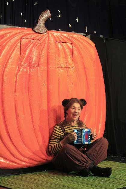 Kulturlördag - Barnteatern Den underbara pumpan