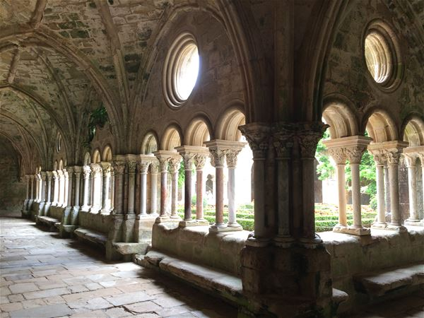 Excursion by minibus - Day - Abbey of Fontfroide & Lagrasse village - Private excursion - F / GB - Treasure Languedoc Tours