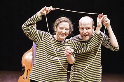 Kristina Wicksell,  © Kristina Wicksell, Kulturlördag - Barnföreställningen Rep & randigt