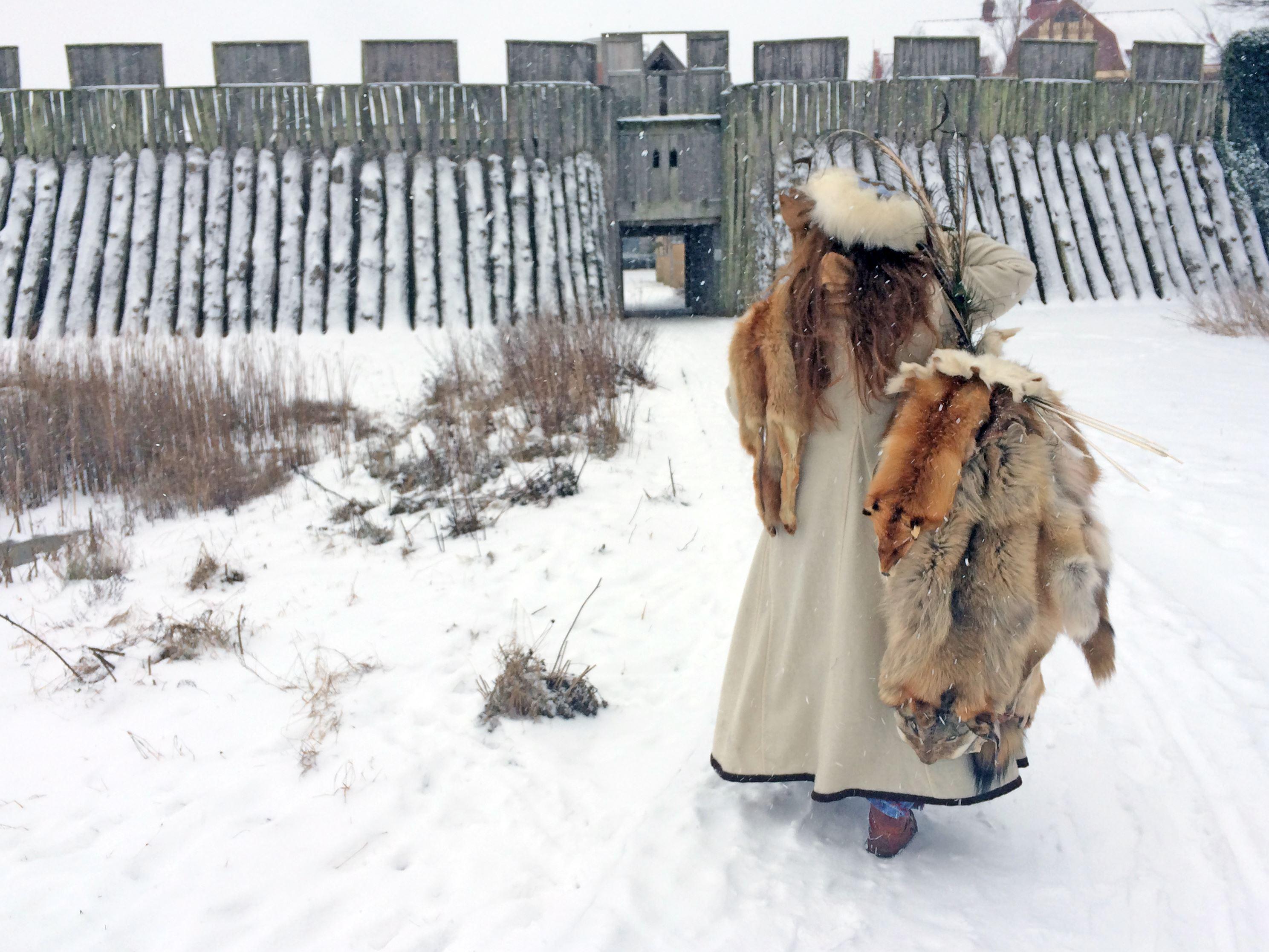 Linda Olofsson, Vinter på Trelleborgen