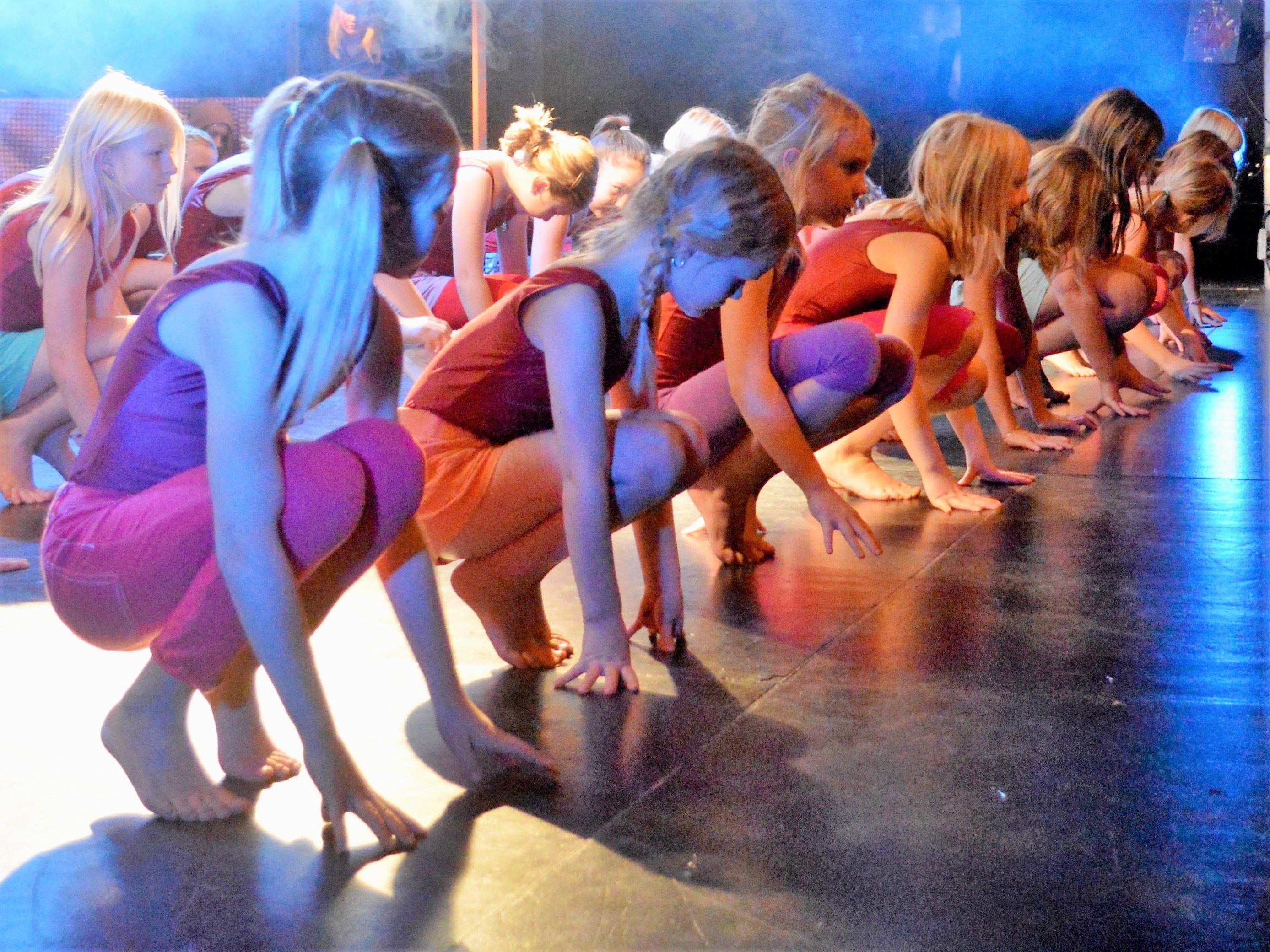 Dansshow SommarVibez