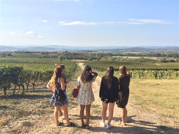 Day excursion by minibus - Lastours Castle, Wine tasting, village of Minerve and Canal du Midi - Private excursion - F / GB - Trésor Languedoc Tours