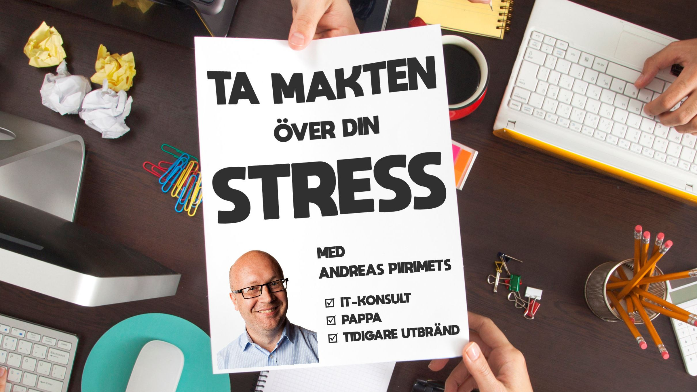 Föredrag: Ta makten över din stress