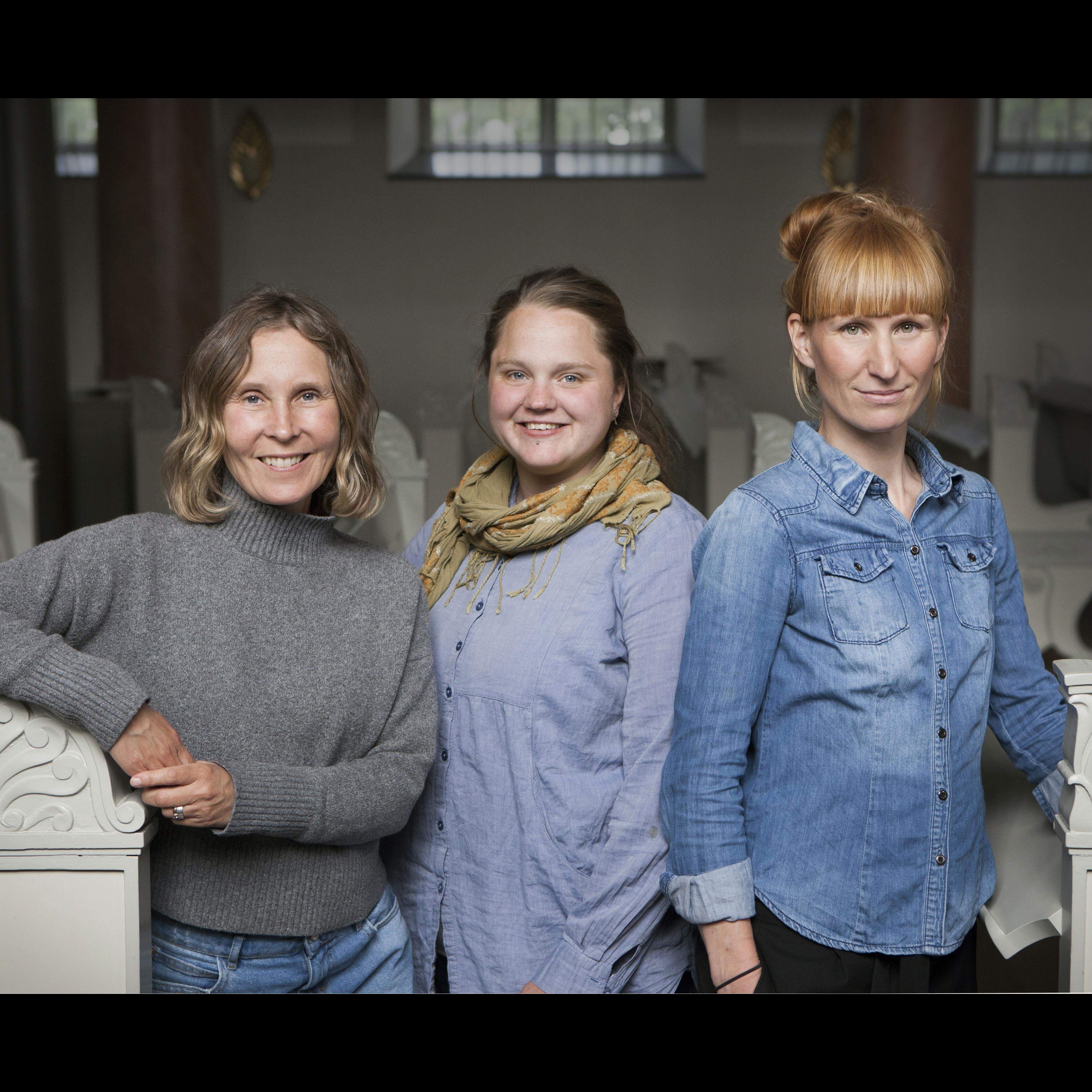 Eva Körberg och Lotta Näckter föreläser om att bevara antikvariskt måleri i Stenstan