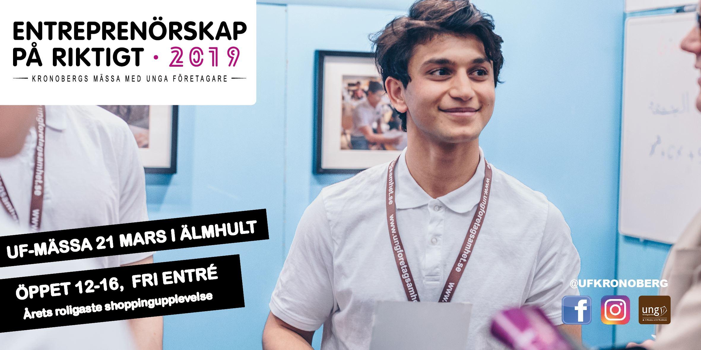 Kronobergs UF Fair - young entrepreneurship for real