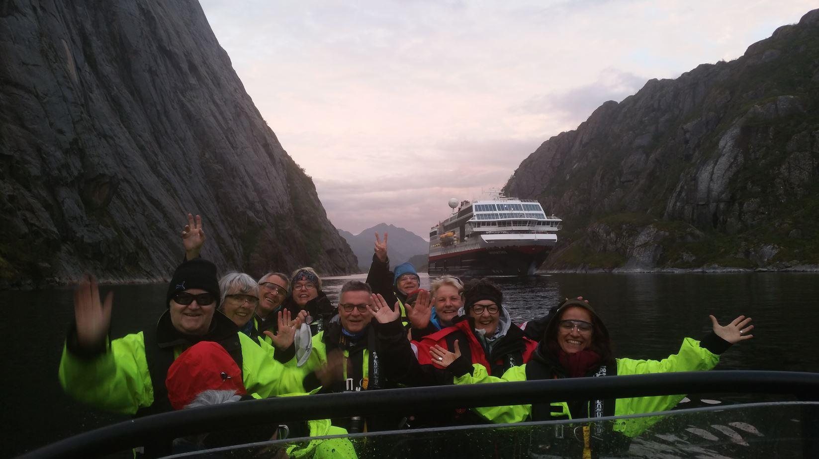 © Go2Lofoten, Sea Eagle Safari from Svolvaer to Trollfjord with RIB - Go2Lofoten