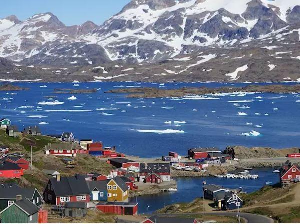 Östersunds bibliotek,  © Östersunds bibliotek, Samhälle på Grönland