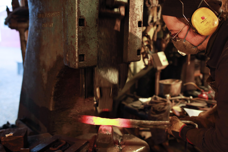 The Blacksmith of sund / Sund Fisherymuseum - Entrance