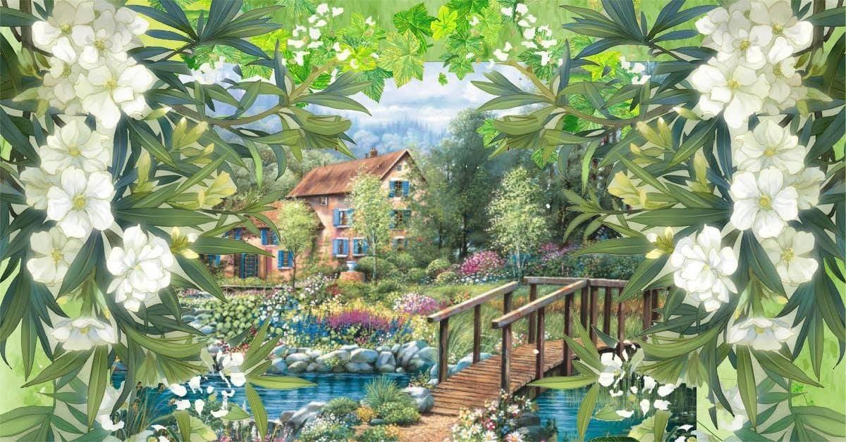 © Cantilena , Den hemliga trädgården