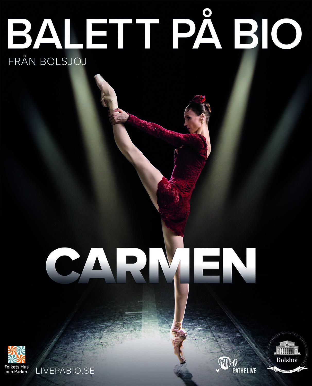 Bolsjojbaletten, Moskva, ger Carmen och Petruska