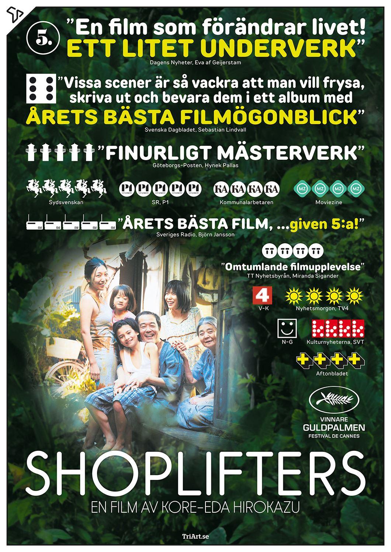 Södertälje Filmstudio: Shoplifters