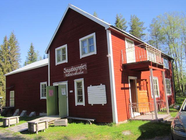 Kerstin Andersson,  © Malå kommun, Filmfestival - Sagabiografen i Adak