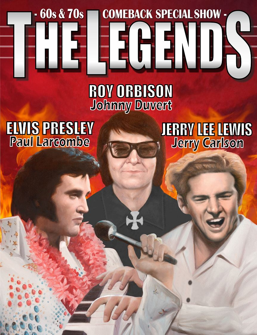 THE LEGENDS - 60´s & 70´s Comeback Special