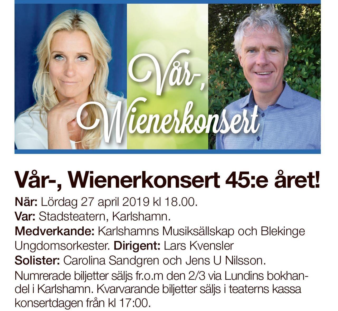 Vår & Wienerkonsert