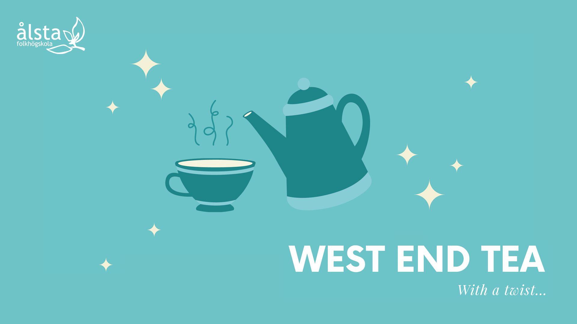 Musikalföreställning West End Tea - With a twist