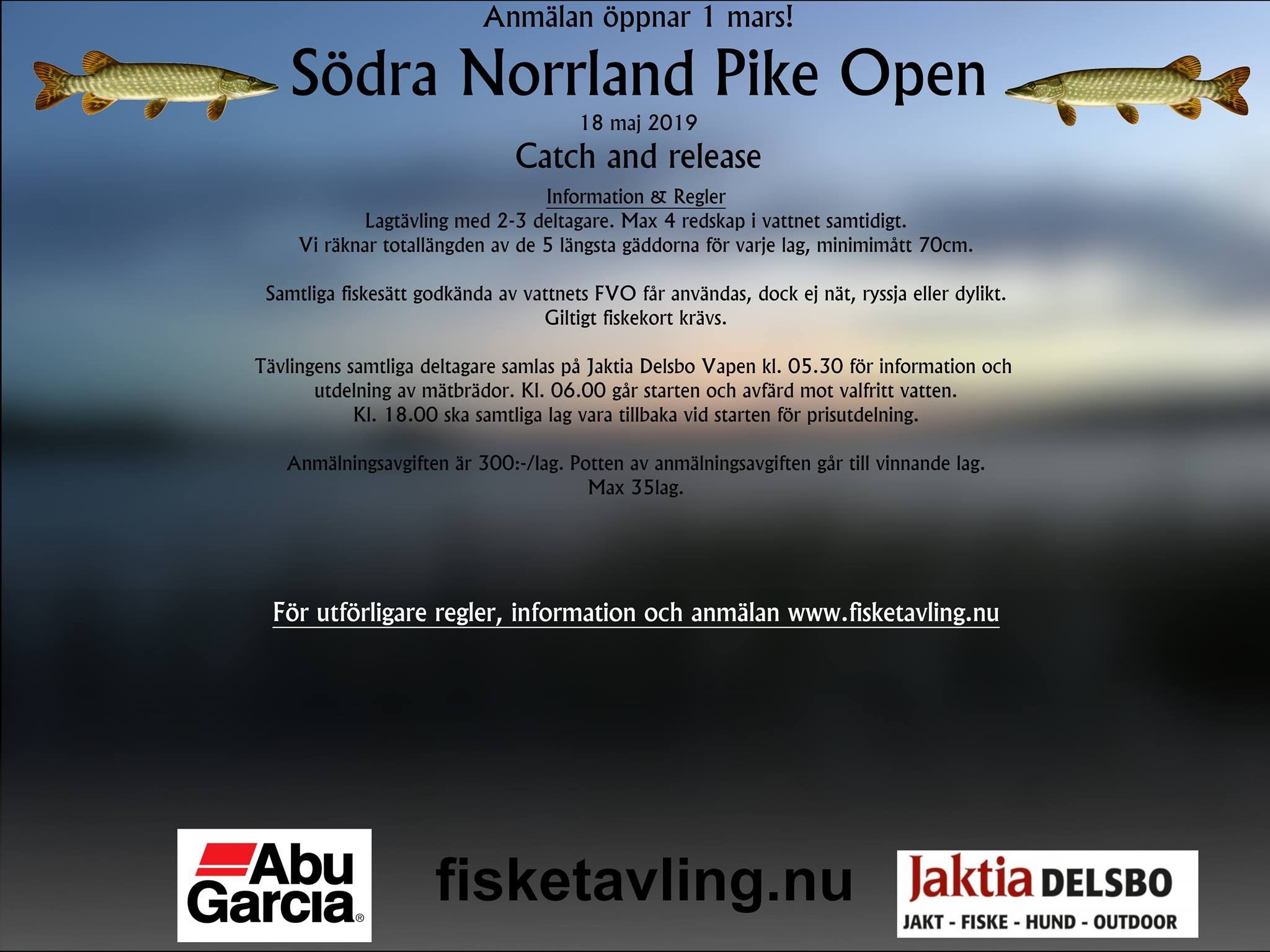 Södra Norrland Pike Open.
