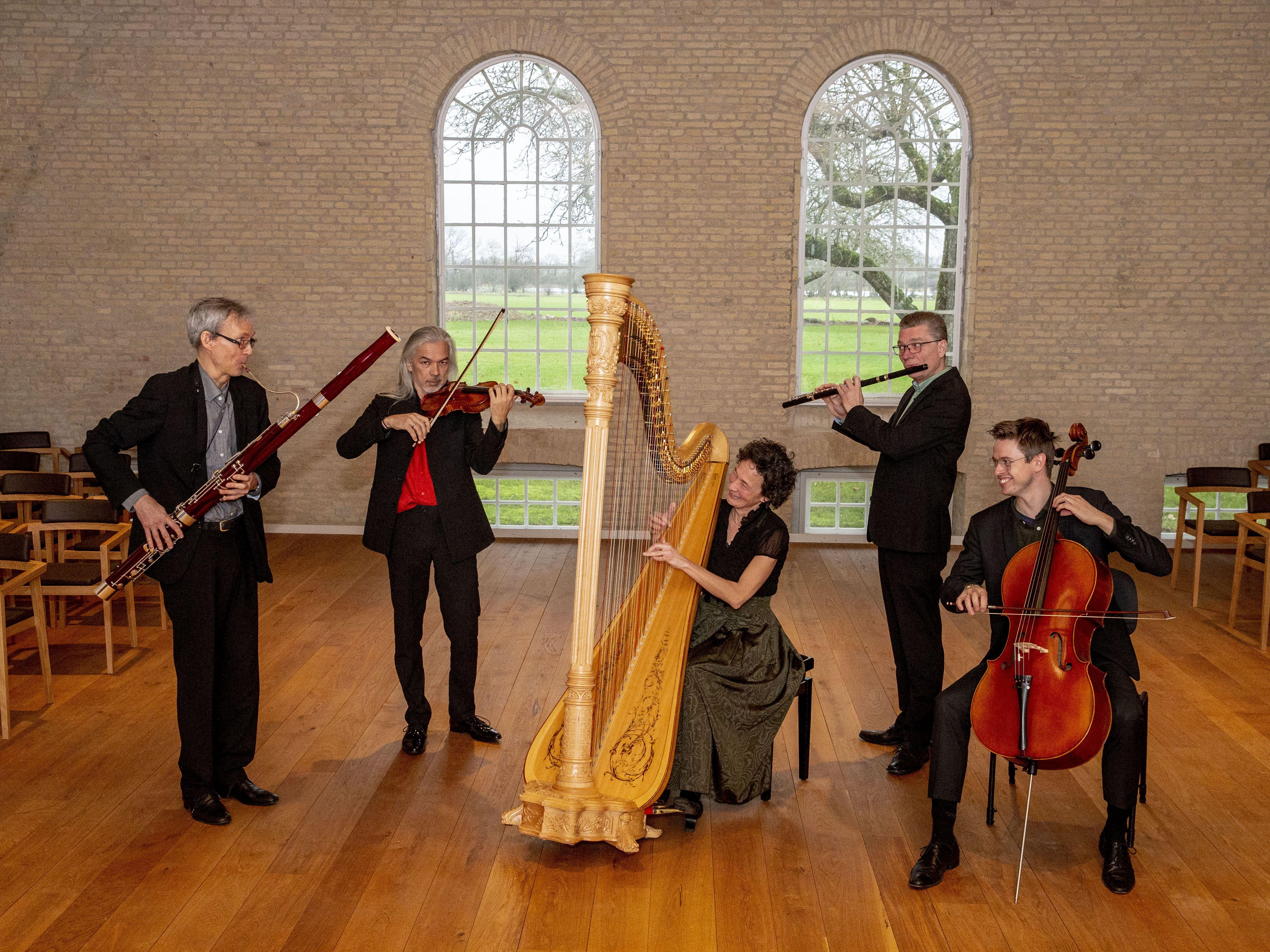 Koncert med Ensemble Storstrøm: Klangkaleidoskop på Stubbekøbing Bibliotek